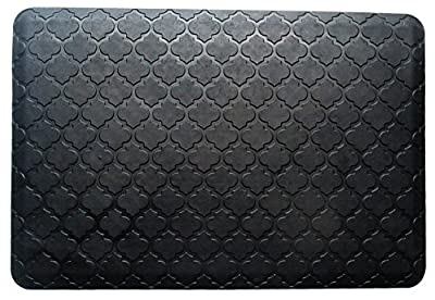 "A1HC First Impression Safety Grip Waterproof 100% Rubber Luxurious Anti-Fatigue mat(24""X36"")"