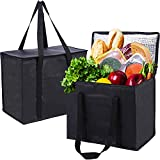 2 Pack Insulated Bag for Food Delivery&...