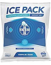 AIESI® Koude kompres onmiddellijk eerste hulp van vliesstof wegwerp afmetingen 14x18 cm Doctor Icepack (verpakking van 25 stuks) # Made in Italy