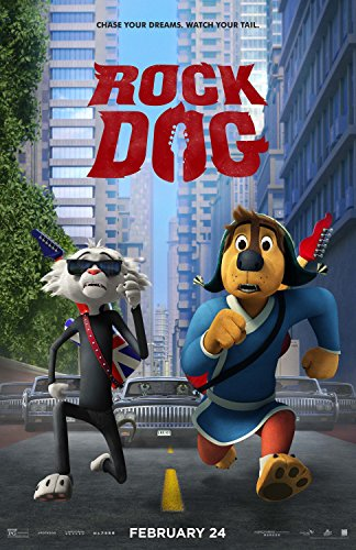 Rock Dog POSTER 13.5x20 Inch Movie Poster
