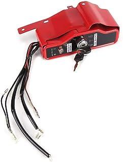 WYANG Interruptor de Encendido eléctrico y Panel de 2 Llaves para Honda GX340 GX390 11HP 13HP Generadores de Motor Construcción Equipos industriales