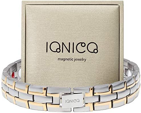 IONICO Stylish Magnetic Therapy Bracelet for Men and Women Health Improvement Reliefs Arthritis product image