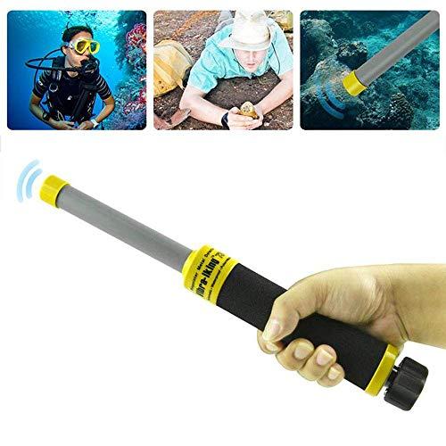 Unterwassermetalldetektor lesgos 100 Fuß Wasserdichter Metallfinder Leichter Pro Gold Metalldetektor mit Impulsinduktion für Erwachsene Anfänger und Profis xinqing