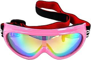 a164a2d13f3c BXT Kids Children Junior Boys Girls Professional UV400 Colored Lens Sports  Windproof Anti-fog Snowmobile