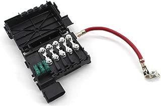 Battery Fuse Box,Fuse Block Holder Battery Terminal for Volkswagen Jetta Golf 4 MK4 Beetle 1J0937550A