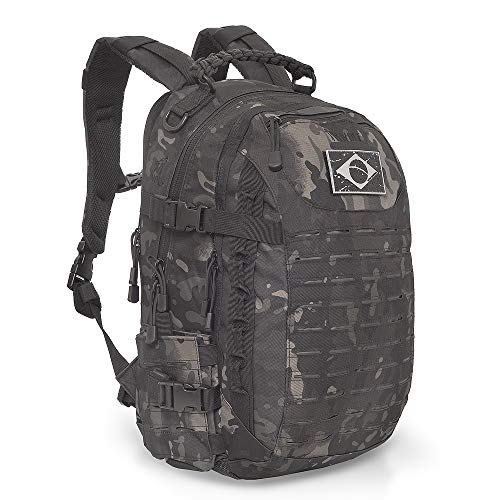 Mochila Militar Wolf EDC Multicam Black