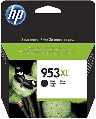 HP 953XL Schwarz Original Druckerpatrone mit hoher Reichweite für HP Officejet Pro 8210, 8710, 8720, 8730, 8740