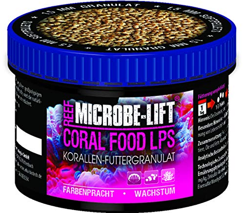 MICROBE-LIFT Coral Food LPS - Korallenfutter - Soft-Granulatfutter für großpolypige Korallen in...