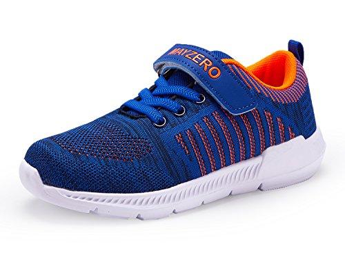 Lingmu - Zapatillas de tenis ligeras para niños y adultos, para correr,...