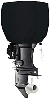 FLYMEI Outboard Motor Cover, Heavy Duty Boat Engine Hood Covers Waterproof Boat Motor Cover Outboard Engine Cover