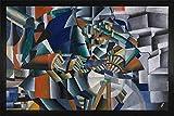 1art1 Kazimir Malévich - El Afilador de Cuchillos Principio de la Animación, 1913 Felpudo Alfombra (60 x 40cm)
