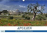 Apulien - Eine Reise zu Italiens Stiefelabsatz (Wandkalender 2022 DIN A3 quer): Italien wie im Bilderbuch (Monatskalender, 14 Seiten )