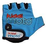 KIDDIMOTO Kinder Fahrradhandschuhe Fingerlose für Jungen und Mädchen/Fahrrad Handschuhe/Bike Kinder Handschuhe - Blau - S (2-5y)
