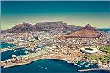 Poster 100 x 70 cm: Kapstadt, Südafrika von Stefan Becker