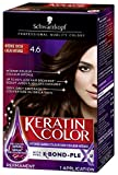 Schwarzkopf Keratin Color Anti-Age Permanent Hair Color Cream, 4.6 Intense Cocoa, 60 Milliliter
