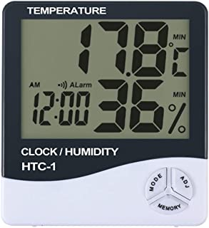 US Blue Robot 2 for Sale HTC-1 high Precision Indoor Electronic Thermometer and Hygrometer