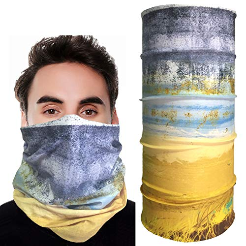 Seamless Face Mask Bandanas for Dust, Outdoors, Festivals, Sports (#03)