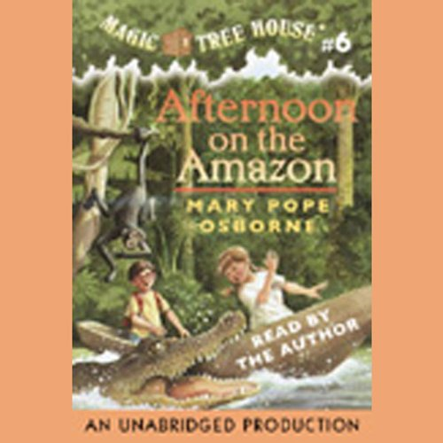 Afternoon on the Amazon audiobook cover art