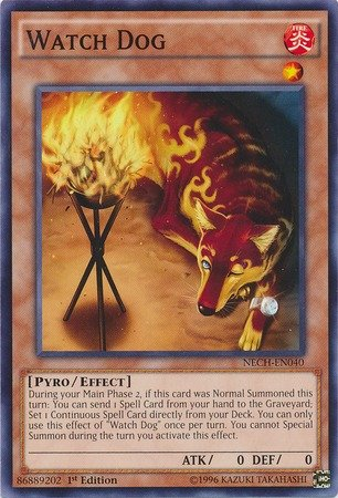 Yu-Gi-Oh! - Watch Dog (NECH-EN040) - The New Challengers - 1st Edition - Common by Yu-Gi-Oh!