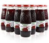 100% Pomegranate Juice - 24 Pack,6.76Fl Oz - USDA Organic Certified - Glass Bottle - No Sugar Added - No Preservatives - Squeezed From Fresh Pomegranates