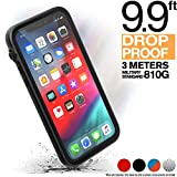 Catalyst - Case for iPhone 11 Pro Case with Clear Back, Heavy Duty 10ft Drop Proof, Truss Cushioning System, Rotating Mute Switch Toggle, Compatible with Wireless Charging, Lanyard Included - Black