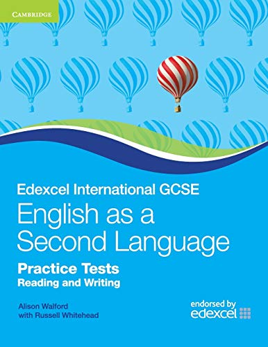 Compare Textbook Prices for Edexcel International GCSE English as a Second Language Practice Tests Reading and Writing Cambridge International IGCSE  ISBN 9780521186391 by Walford, Alison,Whitehead, Russell