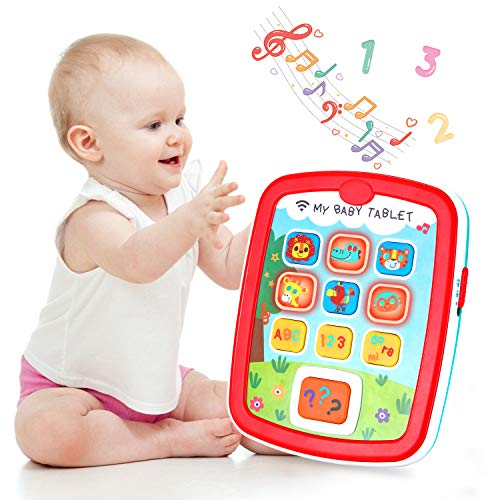 Product Image of the Infant Toys Baby Tablet Learning Educational Activity Center for 6 12 18 Month...