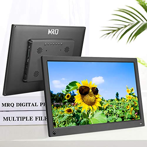 MRQ 15.6 Inch Full HD Digital Photo Frame Native 1080P High- Resolution IPS Screen,...