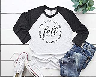 cute women's fall tee fall t-shirt for woman fall outfit hello fall shirt thanksgiving t-shirt
