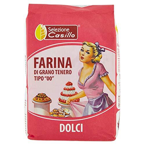 Selezione Casillo Farina per Torte, Pan di Spagna, Paste Frolle e Biscotti - 1 kg