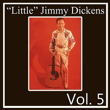 """""""Little"""" Jimmy Dickens, Vol. 5"""