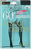 アツギ 60D アツギ タイツ (Atsugi Tights) 60デニール 〈2足組〉 FP88602P レディース ブラック 日本 M~L (日本サイズM-L相当)