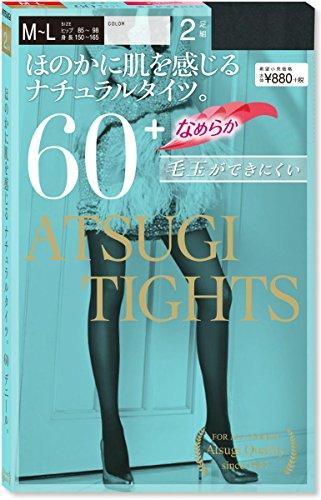 [アツギ] 60D アツギ タイツ (Atsugi Tights) 60デニール 〈2足組〉 FP88602P レディース ブラック 日本 M~...