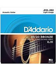 D'Addario ダダリオ アコースティックギター弦 80/20ブロンズ EJ 【国内正規品】