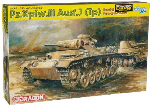 ドラゴン 1/35 III号戦車 J型 熱帯地仕様 初期生産型 プラモデル