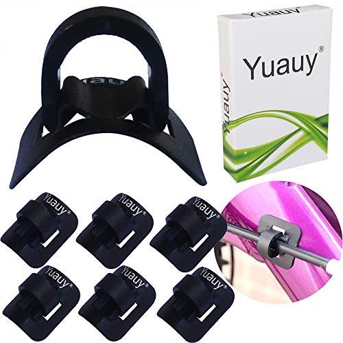 Yuauy 6 juegos (6 piezas base + 6 clips de clip) Guía...