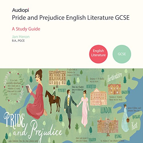 Pride and Prejudice GCSE English Literature audiobook cover art