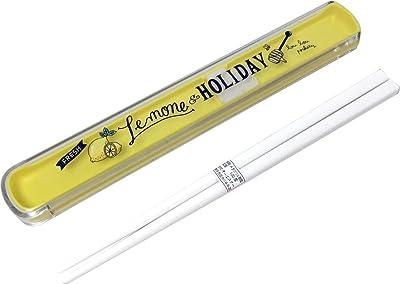 オーエスケー レモン&ホリデー 引きフタ箸箱セット 19.5cm HS-16