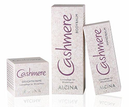ALCINA Cashmere - Handbalm 1x 50ml & Bodybalm 1x 150ml & Gesichtscreme 1x 50ml
