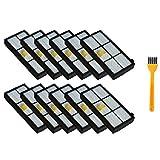 DONGYAO Hepa Filtros Piezas de Repuesto para Aspiradora Robótica 870/800/880/960/980 (Serie 800 900) Accesorios para Aspiradora