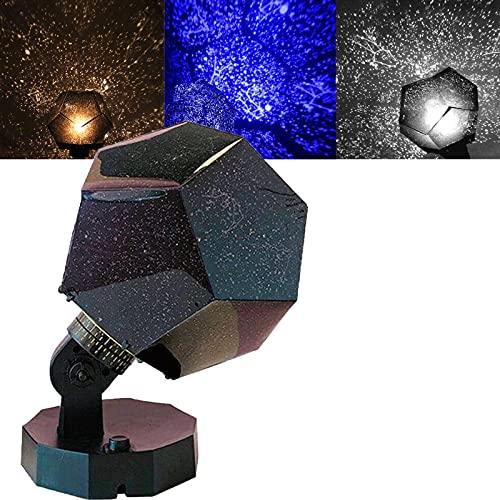 Nova Stars Original Home Planetarium - Realistic Starlight Constellation Projector, Three-Color Star Night Light Projector Lamp Sky Starry Celestial...