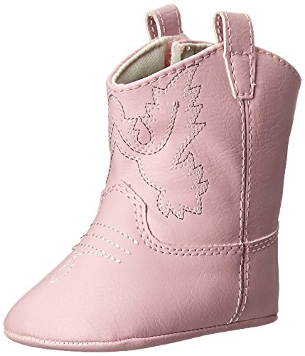 Baby Deer Baby Girls Infant Soft Sole Western Boot, Pink, 2