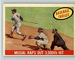 1959 Topps #470 Stan Musial IA Cardinals EX 372135 Kit Young Cards