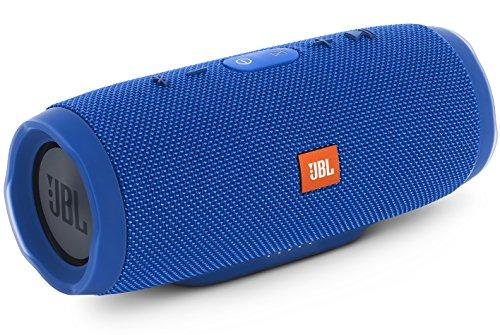 JBL CHARGE3 Bluetoothスピーカー IPX7防水 ポータブル パッシブラジエーター搭載 ブルー JBLCHARGE3BLUEJN
