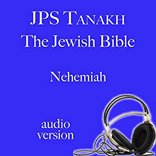 The Book of Nehemiah: The JPS Audio Version audiobook cover art