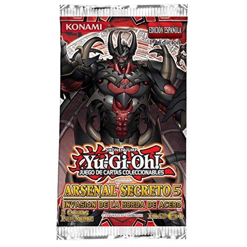 YUGIOH Arsenal Secreto 5 Invasion DE LA Horda DE Acero Caja de Sobres