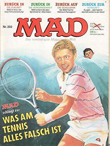 MAD Nr. 202 Was am Tennis alles falsch ist