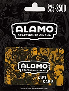 Alamo Drafthouse Cinema Movie Gift Card