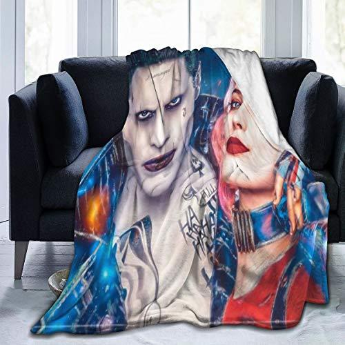 51j0RAuqKeL Harley Quinn Blankets
