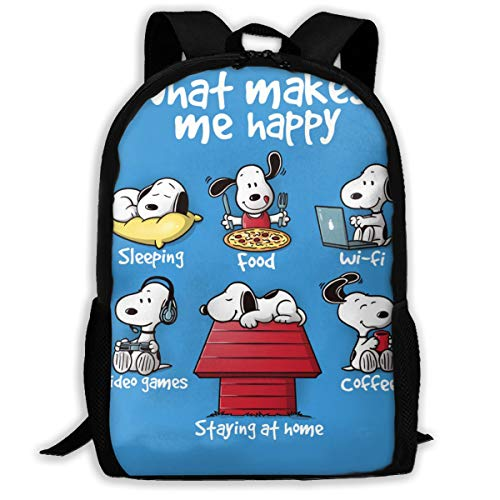 Aquaprint Snoopy Daily Life School Bag Backpack Daypack For Girls Boys